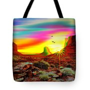 Monument Valley 1 Tote Bag