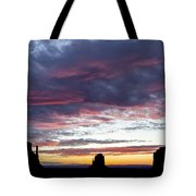 Monument Valley Morning #1 Tote Bag