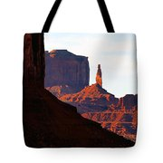 Monument Valley Pano Work D Tote Bag