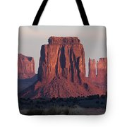 Monument Valley Sunrise 7288 Tote Bag