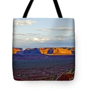 Monument Valley Sunset Two Tote Bag