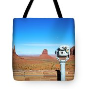 Monument Valley, Usa Tote Bag