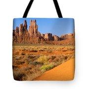 Monument Valley,arizona Tote Bag