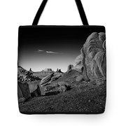Monument Valley Rock Formations Tote Bag