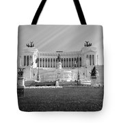 Monumental Architecture In Rome Tote Bag