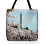 Monumental Cherry Blossoms Tote Bag