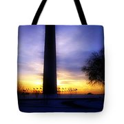 Monumental Sunset Tote Bag
