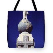 Monumento Al Divino Salvador Del Mundo Tote Bag
