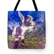 Moo Cow Love Grass Tote Bag