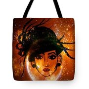 Mood Head Tote Bag by Saifon Anaya