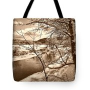 Mood Of Winter Tote Bag
