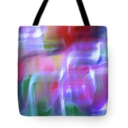 Moods Abstract Square Tote Bag