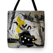 Moods Yellow Let It All Hang Out Tote Bag