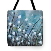 Moody Blues Tote Bag by Holly Donohoe