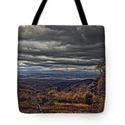 Moody Mountain View Tote Bag