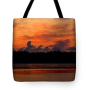 Moody Reds Tote Bag