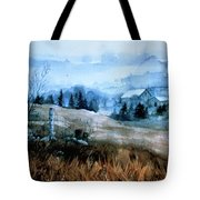 Moody Valley Tote Bag