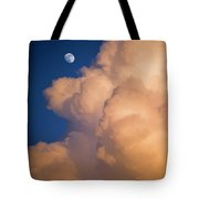 Moon And Cloud Tote Bag