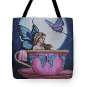 Moon Bathing Tote Bag