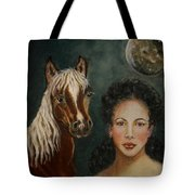 Moon Beams Tote Bag