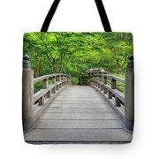 Moon Bridge In Spring Tote Bag