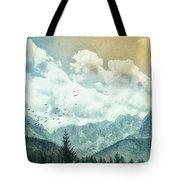 Moon By Day Tote Bag
