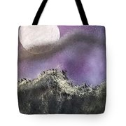 Moon Captured Tote Bag