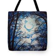 Moon Clouds Tote Bag