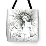 Moon Dew Tote Bag