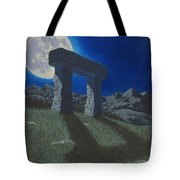 Moon Gate Tote Bag