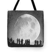 Moon - Id 16236-105000-9534 Tote Bag