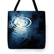 Moon In The Water Tote Bag