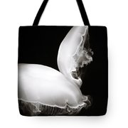 Moon Jellyfish Touching Tote Bag
