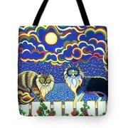 Moon Light Tango Tote Bag