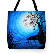 Moon Lit Tote Bag