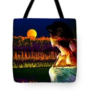 Moon Love Tote Bag