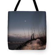 Moon Meets The Sun  Tote Bag