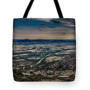 Moon On The Plains Tote Bag