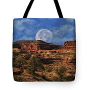 Moon Over Canyonlands Tote Bag