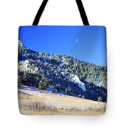 Moon Over Chautauqua Tote Bag