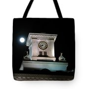 Moon Over City Hall Tote Bag