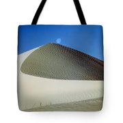 214804-moon Over Dune  Tote Bag