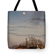 Moon Over Engine 509 Tote Bag