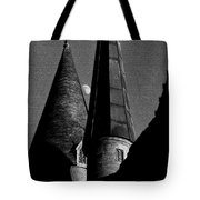 Moon Over Hogwarts Tote Bag
