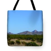 Moon Over My Mountains 2 Tote Bag