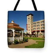 Moon Over The Amazon Tote Bag