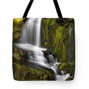 Moon Pass Waterfall Tote Bag