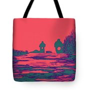 Moon Racers Tote Bag
