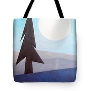 Moon Rings Tote Bag