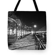 Moon Romance Bw Tote Bag
